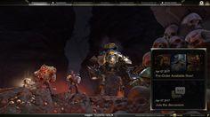 Dawn of War III Main Menu beta