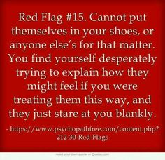 Red Flag Suddenly and completely bored by you. Gives you the silent treatment & becomes very annoyed that you seem to be interested in continuing the passionate relationship that THEY created. You are now a chore to them. Narcissistic Behavior, Narcissistic Abuse Recovery, Narcissistic Personality Disorder, Narcissistic Sociopath, Narcissistic Mother In Law, Narcissistic People, Abusive Relationship, Toxic Relationships, Relationship Red Flags