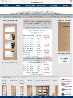 Oak Doors, Panel Doors, External Doors, Fire Doors, Uk Homes, Kitchen Doors, Door Handles, Door Knobs, Outdoor Gates
