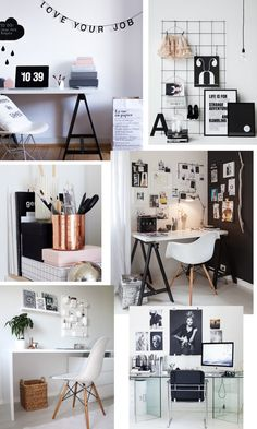 workspace interior inspiration desk
