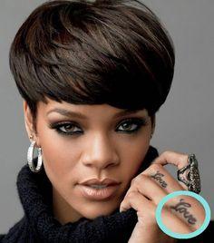 Rihanna Maori tattoo | Татуировки Rihanna - Rihanna1.ru