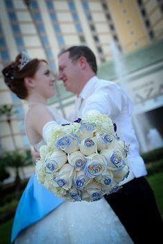 blue wedding color palette