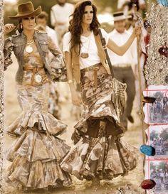 Spanish style – Mediterranean Home Decor Boho Chic, Bohemian Mode, Bohemian Style, Gypsy Style, Boho Gypsy, My Style, Spanish Fashion, Spanish Style, Fashion Mode