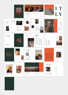 ROME Retro Editorial Lookbook by flowless on @creativemarket Page Layout Design, Web Design, Magazine Layout Design, Book Layout, Book Design, Mise En Page Portfolio, Portfolio Layout, Portfolio Design, Editorial Layout