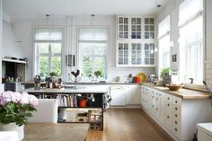 a thought: move kitchen into dining area to enlarge kitchen