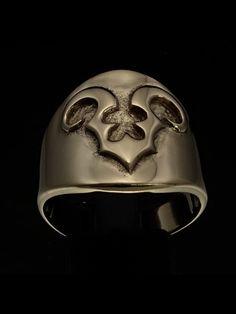SHINING ROUND BRONZE MENS ZODIAC COSTUME RING STAR SIGN ARIES SYMBOL Aries Symbol, Zodiac Rings, Costume Rings, Sagittarius, Baseball Hats, Bronze, Symbols, Baseball Caps, Caps Hats