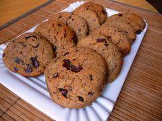 Cizrnové cookies s hořkou čokoládou