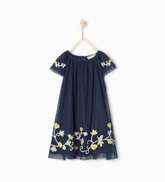 Floral tulle dress-DRESSES AND JUMPSUITS-GIRL | 4-14 years-KIDS | ZARA United States