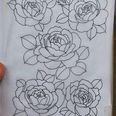 English Roses  Disponibili ! Vorrei tatuarle tantissimo quindi prezzo specialissimo !!  Available ! Special Price! Dm for infos #rose #roses #english #englishrose #pink #pinkrose #pinkroses #tattoo #tattoos #tattooflash #sketchbook #black #line #femaletattooist #btf #sadgirl #neotradsub #neotraditional #neotradeu #italiantattooartist #newtraditional #napoli #instadraw #instatattoo #drawoftheday