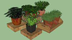 Ervas para bancada cozinha - 3D Warehouse