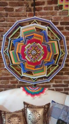 Mandala 12 puntas, 1 metro diámetro