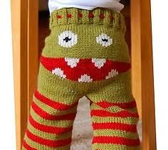 Free Monster Baby Pants Pattern  http://www.ravelry.com/patterns/library/monster-longies-monsterbukse