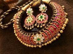 Gold Jewelry In Egypt 24k Gold Jewelry, Gold Jewelry Simple, Quartz Jewelry, Fine Jewelry, Diamond Choker Necklace, Earrings, Discount Jewelry, Temple Jewellery, Necklace Designs