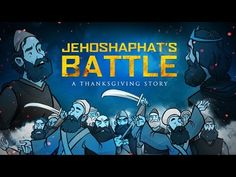 2 Chronicles 20 Give Thanks to the Lord Bible Video for Kids:  This powerful lesson from the life of King Jehoshaphat explores the importance of thanksgiving no matter how difficult the circumstances. Perfect for Thanksgiving, or any other time, this action-packed lesson centers on the amazing love of God for his people. Because of this love we always have reason to be thankful. Featuring award-winning illustrations and strong storytelling this 2 Chronicles 20 Kids Bible Video is a must see!