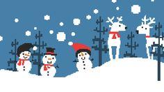 Image result for winter pixel