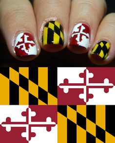 31DC2013: Day 28 Inspired by a Flag State Flag of Maryland!