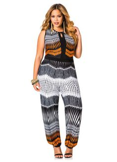 b2559ac3349b Printed Jogger Jumpsuit Summer Outfits Women 30s