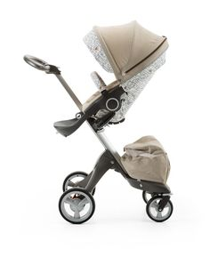 Stokke® Stroller Style kit Grid Pattern – Mix & Match with your current Stokke textiles for your own unique look