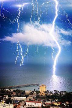 Lightning Ventura, California.