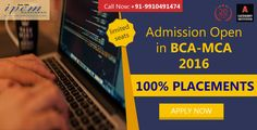 Admissions Open in BCA (3 Years) and MCA (2 Years) Course @IPEM GROUP OF INSTITUTION Call Now :- +91-9910491474