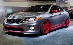 401-HP 2013 Honda Accord Coupe Among Three Accords at Honda's SEMA Display - WOT on Motor Trend