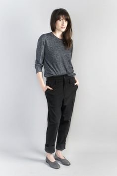 HOPE STHLM Classy Top & Miss Alice baggy pants