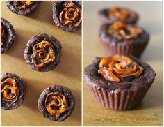 Una Fragola ai Fornelli: Roselline di zucca e cioccolato (vegan, senza glutine)