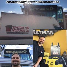 Ray from Keystone Fire Protection giving Regal Cinema Manayunk the Red Carpet Treatment! As you can tell Ray loves having fun and making sure our clients are protected. Thank You Regal Cinema for choosing Keystone Fire Protection for your fire protection services. Keystone services their Restaurant Systems and Fire Extinguishers. We love you Ray.. you are always 100% committed to our clients!!  Is your business located in the Philadelphia area? You need to experience Ray and our Red Carpet…