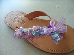 Elli's Shoes & Sandals: pink mauve kitty