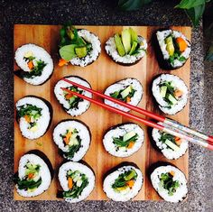 Sushi vegetables  food  #sushi  #veggies -  #dish