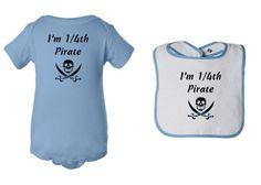 Mashed Clothing 2-Pack Set – I'm 1/4th Pirate « Clothing Impulse