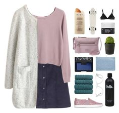 """""""//prickly pear//"""" by the-midnight-garden ❤ liked on Polyvore featuring Chicnova Fashion, FOSSIL, Lanvin, NARS Cosmetics, Miss Selfridge, Linea, Muse, Martha Stewart, Korres and The Nude Label"""