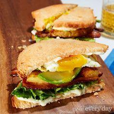Tyler Kord's BLP (Bacon, Lettuce & Pineapple) Sandwich
