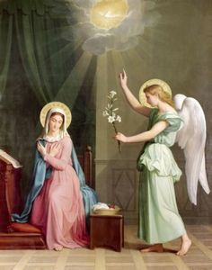 AugustePichonTheAnnunciation(sm)RestoredTraditions REQUIRES HOT LINK
