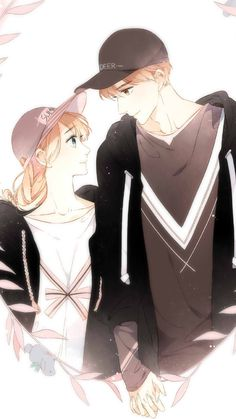 Love Like Cherry Blossoms Anime Cupples, Anime Couples Manga, Anime Comics, Kawaii Anime, Anime Guys, Anime Love Couple, I Love Anime, Cherry Blossom Wallpaper, Cute Anime Coupes