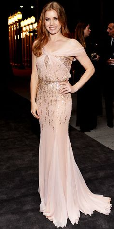 Amy Adams WHAT SHE WORE Amy Adams chose a Gucci design for the LACMA Art + Film Gala.