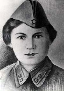 Fedora Pushina (Russian: Федора Пушина) was a lieutenant in the 520th Rifle Regiment of the 167th Infantry Division in the 38th Army on the 1st Ukrainian Front during the Second World War. She was posthumously awarded the title Hero of the Soviet Union on 10 January 1944 after she was killed in action in Kiev on 6 November 1943.