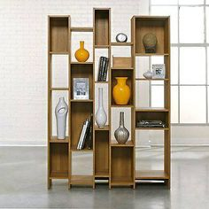 Sauder Soft Modern Wall Shelf new in box oak finish looks great for your living room ,office or any place in the house