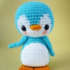 Pen-Pen the Penguin amigurumi pattern by Berriiiz