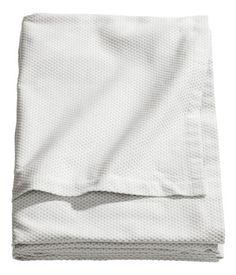 Jacquardvävd bomullsduk | H&M SE