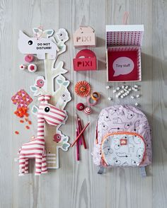 Rode accessoires voor kids | Red accessories for kids | Done by Deer