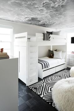 Bunk Beds For Boys Room, Bunk Bed Rooms, Beds For Small Rooms, Loft Bunk Beds, Bunk Beds Built In, Bunk Beds With Storage, Bunk Beds With Stairs, Kid Beds, Modern Bunk Beds