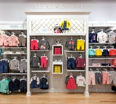 Carters Mall of America Wall 1 Source by store Boutique Interior, Clothing Store Interior, Clothing Store Displays, Clothing Store Design, Shop Interior Design, Shoe Store Design, Retail Store Design, Kids Store Display, Store Interiors