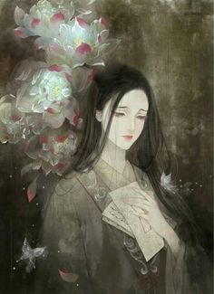 I love asian art and culture I want to collect everything I like! Chinese Drawings, Art Chinois, Art Asiatique, Art Japonais, Art Anime, China Art, Human Art, Ancient Art, Japanese Art