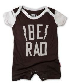 Prefresh Be Rad Infant Playsuit... My little guy WILL be sporting this.