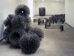 Nails Sculpture by John Bisbee