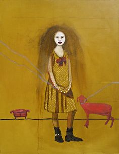 "Ana Fuentes, ""The Pet"" on ArtStack #ana-fuentes #art"