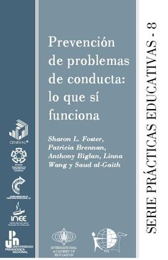 """Hola: Compartimos un interesante eBook sobre """"Cómo Prevenir Problemas de Conducta en el Aula – Lo que sí Funciona"""" Un gran saludo.  Visto en: publicaciones.inee.edu.mx Acced…"""