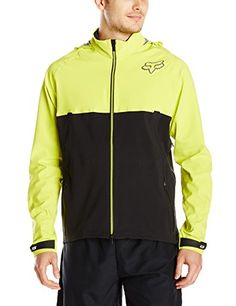 Fox Head Men's Downpour Jacket, Acid Green, X-Large Fox Racing ++You can get best price to buy this with big discount just for you.++