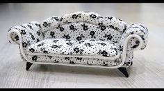sofa for dolls tut                                                                                                                                                                                 More